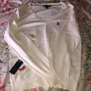 NWT US Polo V Neck Sweater